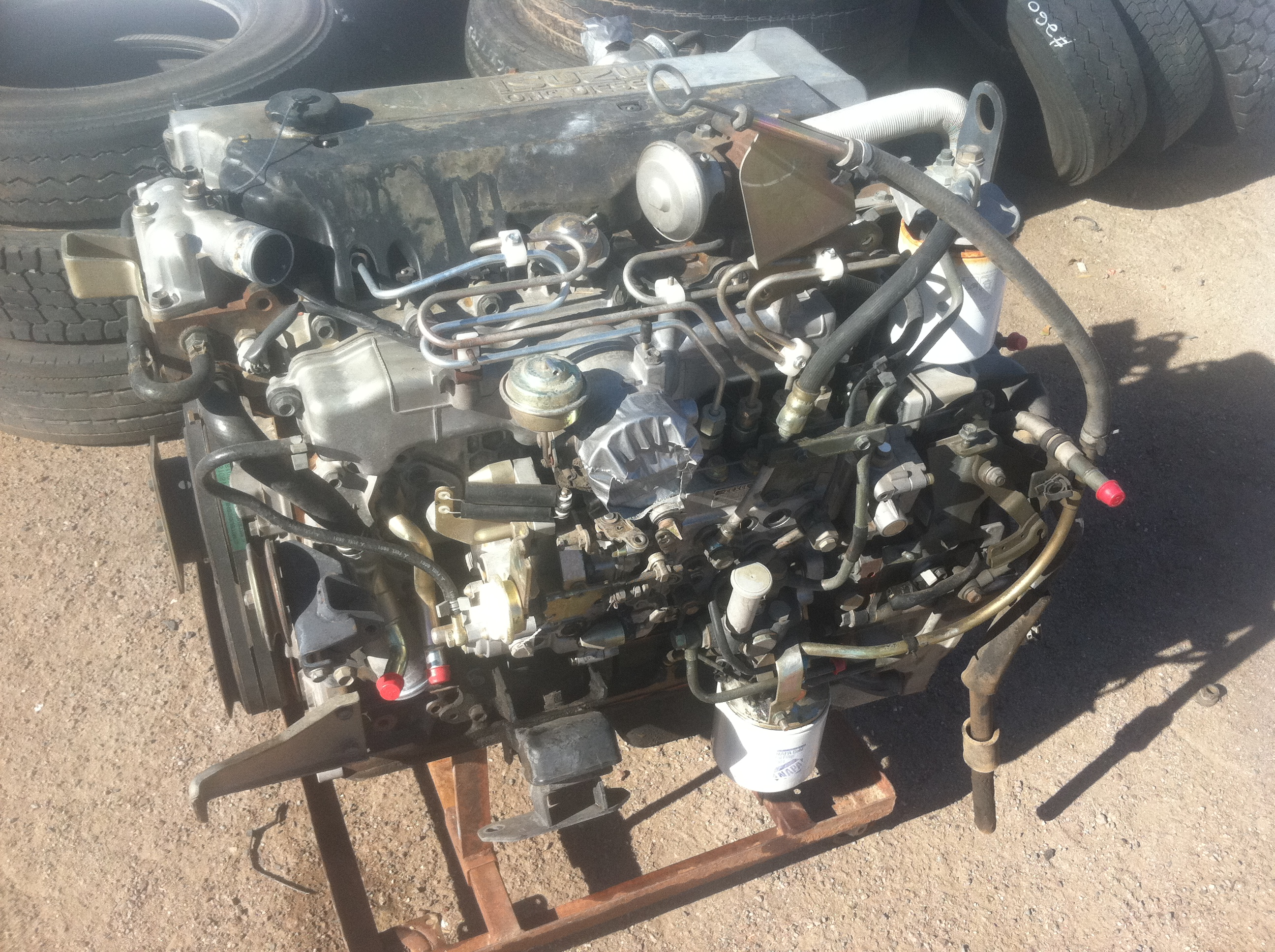 isuzu 4he1 turbo diesel engine fits 1998 2004 npr  nqr  gm w3500 4500   5500 cab over trucks Isuzu Amigo Isuzu Amigo