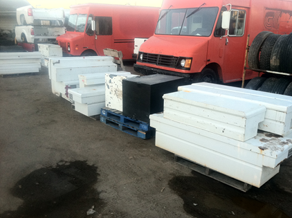 used truck mount tool boxes